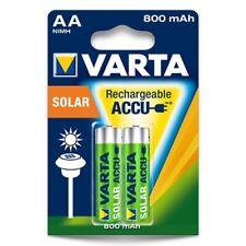 Varta Akku Solar AA Wiederaufladbar Rechargeable 800mAh Accu