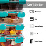 Food Containers Meal Prep BPA Free eco friendly Kitchen essentials Storage UK