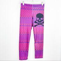 Zara Terez x Soulcycle Size M Medium Aztec Printed Leggings Athletic Womens