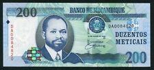Mozambique 200 meticais 2006.06.16. Samora Moises Machel P146 UNC