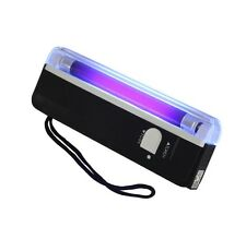 1PCS 4W Mini Portable UV Ultra Violet Black Light Lamp Torch BANK NOTES Check L