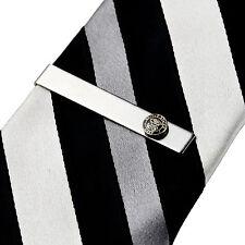 Navy Tie Clip - Tie Bar - Tie Clasp - Business Gift - Handmade - Gift Box