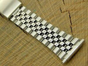 Vintage NOS Unused Stainless Steel Deployment Watch Band 16mm-22mm Bracelet