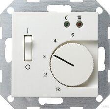 Gira 039403 Raumtemperaturregler 230V mit Sensor Fußbodenheizung System 55 Rein
