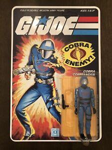 1982 GI JOE MICKEY MOUSE COBRA COMMANDER * Reproduction Symbol And Card*