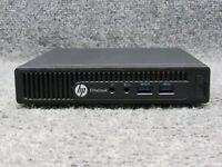 HP EliteDesk 705 G2 Mini PC  w/ AMD Pro A12-8800B R7 2.10GHz 4GB RAM 250GB HDD