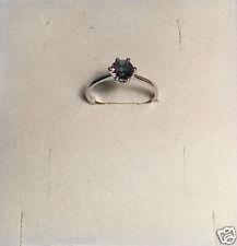 Ring Größe 6 Stein Mystic Topaz, 925 Sterling Silber, Rhodiniert 0008