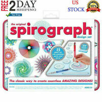 Spirograph Design Set Fun For Young Adult Deluxe Original Drawing Art Toy Game,