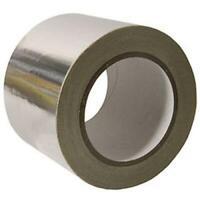 """Aluminium Foil Tape 2"""" 5cm x 50m Length High Temperature Resistant Hydro Ducting"""