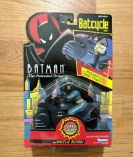 MOC-Vintage Kenner Batman Animated Series - 1992 - Batcycle with action figure