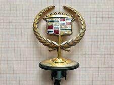 Cadillac DeVille DTS STS 2000 - 2006 gold Motorhauben Emblem Hood Ornament 2004