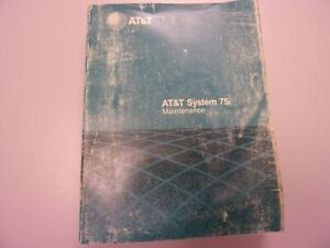 Vintage Set of Manuals AT&T System 75 Western Electric Telephone
