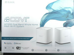 D-Link Covr-1102, AC 1200 Mesh – Router, Dual Band, 2 Pack