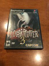 Clock Tower 3 PS2 Playstation 2 2003 CIB Black Label