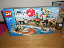 LEGO City Coast Guard Truck with Speed Boat (7726)