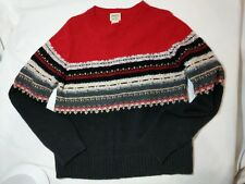 St John's Bay Washable Lambswool Sweater Size M Pullover