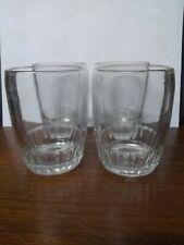 Set Of 4 Vintage Anchor Hocking Old Fashioned Bar Glasses