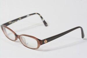 Coach Rx Eyeglasses Mimi (746AF) 49[]17 140 Plastic Frame/ Arms Toffee #412