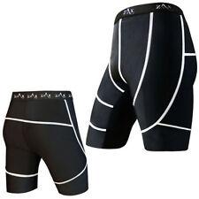 Shorts e bermuda da uomo nero elasticizzato