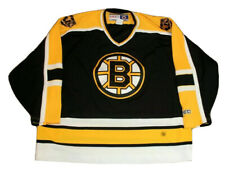 CCM Boston Bruins NHL Embroidered Mens Hockey Jersey Size XXL Pre Owned