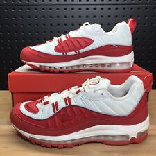 "Nike Air Max 98 ""University Red"" Running Shoes 640744 602 Men's Size 9.5"
