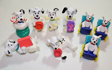 Mcdonalds 101 Dalmatians 1996 Happy Meal Toy Lot of 9 figures