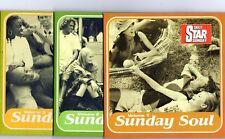 SUNDAY SOUL ~ THELMA HOUSTON/ GLADYS KNIGHT ~DAILY STAR - 3 PROMO CD'S - UNP..