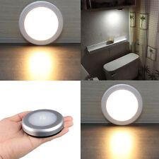 NUEVO Sensor Movimiento Luz Sin Cable Con Pilas LED Lámpara Mesilla RECIBIDOR