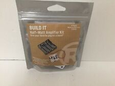 BUILD IT Half Watt Amplifier From RadioShack  DIY Kit #2770350 Free Shipping