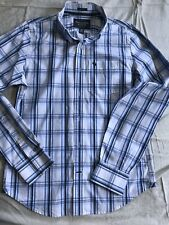 Abercrombie & Fitch Muscle Men's Long Sleeve Button Down Striped Shirt Size M