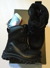 Timberland Boys Toddler Black Winter Boots Chillberg A1375 Size 4 Snow High Hi