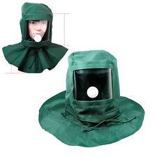 Sand Blasting Hood Cap Anti Wind / Sandblaster Tools Dust Protective Face Mask