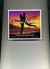 CHANSON D'AMOUR - BRIAN HYLAND BOBBY DARIN SAM COOKE GENE PITNEY - 3 CDS - NEW!!
