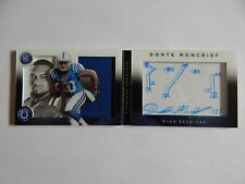 Donte Moncrief Indianapolis Colts  2014 Playbook 1 OF 1  Auto, Patch and Play!!!