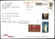 Mailed cover with stamps Year of the Rat 2008 Lighthouse 2007 from USA US  avdpz