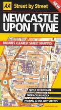 , AA Street by Street Newcastle Upon Tyne, Paperback, Very Good Book