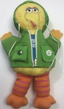Vintage Sesame Street Big Bird Dress And Play Plush Doll Child Guidance 14in.