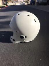 Riddell Revo Adult Large Football Helmet Flat White With White Face Mask