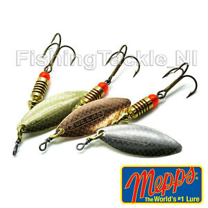 Mepps Aglia Long Spinner Fishing Lure Predator Pike etc Gold Silver Copper