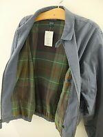 Polo Ralph Lauren Harrington Blue Jacket - Size Extra Large - Blue 100% Cotton