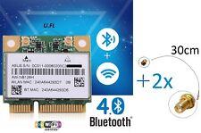 asus Atheros AR5B225 802.11b/g/n 4.0 Mini PCIe AW-NB126H + 2x RPSMA-> U.FL Kabel