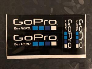 Go Pro Stickers Autocollants (4 pieces)