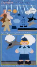 AIR FORCE ANGIE Girl in Military Uniform - EK Success Paperkins Paper Dolls