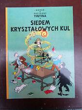 Tintin - Les 7 boules de cristal en POLONAIS Egmont 2009 NEUF!