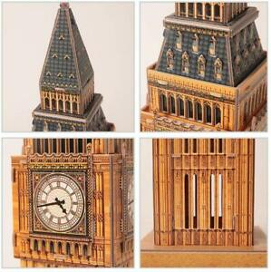 Big Ben/Tower Bridge/State of Liberty/Eiffel /Leaning Tower 3D Jigsaws PUZZLE