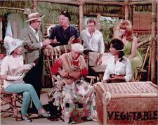 Gilligan's Island Tv series 8x10 photo Denver & cast inside island home