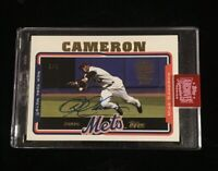 2019 TOPPS ARCHIVES SIGNATURE SERIES MIKE CAMERON AUTO BUYBACK #'d 1/1! METS