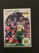 1990 Hoops Basketball - Shawn Kemp - Rookie Card - Card # 279