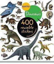 Eyelike Dinosaurs Sticker Book with 400 Reusable Full-Color Stickers