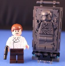 LEGO® STAR WARS™ 75137 Han Solo™ in CARBONITE Minifigure + Stand Parts & Blaster